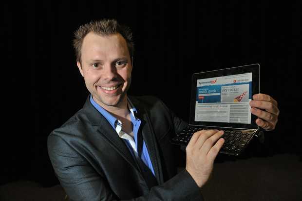 Internet marketing guru Ben Bradshaw.