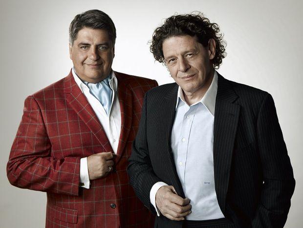 Matt Preston and Marco Pierre White host MasterChef - The Professionals.