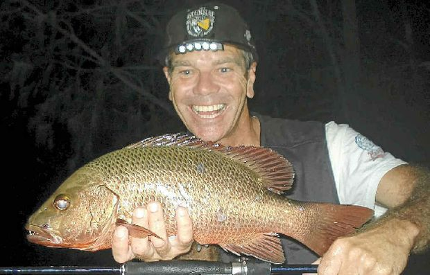 NICE JACK: Cameron Wadeson's 47cm mangrove jack is Davo's Fish of the Week.