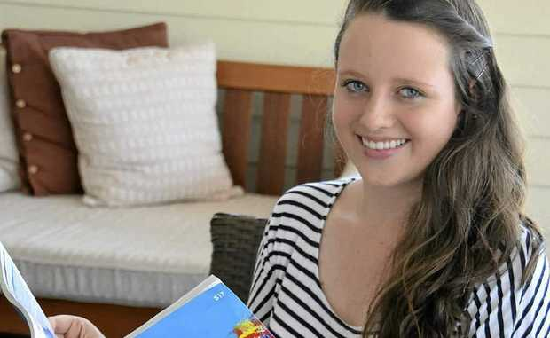Jane Bourke was accepted into her chosen course, a Bachelor of Arts and Social Work at ACU.
