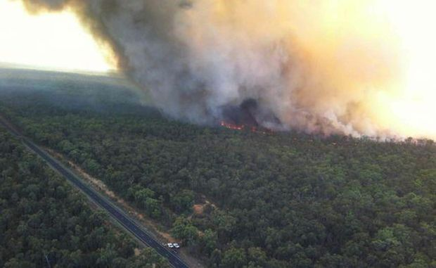 NSW residents are asked to make donations and help the Coonabarabran bushfire victims.