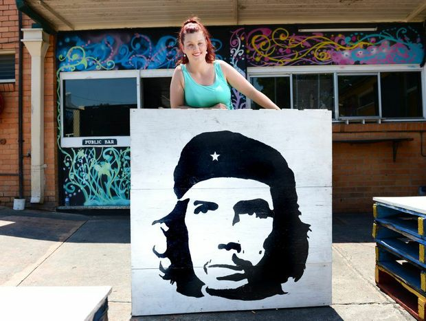 Coronation Hotel owner Bridget McLean wants to see youth culture like street art encouraged.