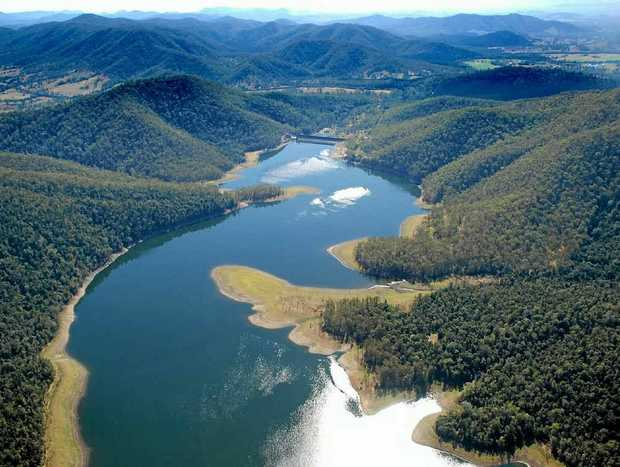 HIGH IDEAL: Borumba Dam could be used to drought-proof south-east Queensland and save Brisbane and Ipswich from future floods.