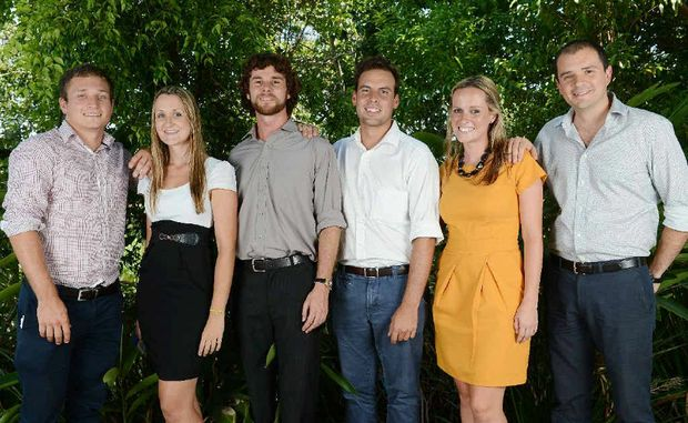 NEW DOCTORS: (from left) Sam Wotherspoon, Hayley Edmonds, Chris Bentley, Andrew Burgess, Kirstin Coggins and Gonzalo DeAngulo are keen to get started in their first year at Lismore Base Hospital.