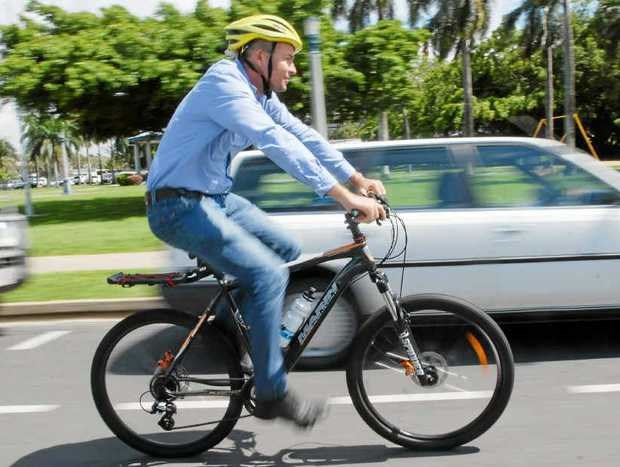 SHARING THE SPACE: Cyclists on the Sunshine Coast have noticed a general improvement in their 'relationship' with motorists.