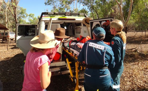RACQ CQ Rescue flew a round trip of over 600km to reach a 12 year old boy at Beenboona Station.