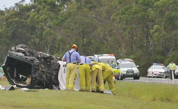The driver involved in a fatal crash in Torbanlea in 2010 has been jailed.
