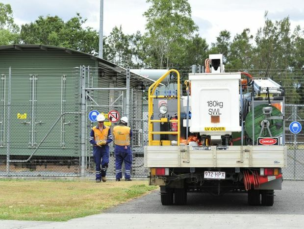 Up to ten thousand homes lost power in Ipswich on Monday due to an issue at the Raceview power station.