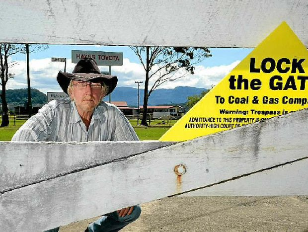 Guest Speaker: Tweed CSG campaigner Michael McNamara is a guest speaker at Gecko on the Gold Coast later this month. He accepted the invitation to help raise the awareness of CSG among Gold Coasters. Photo: John Gass