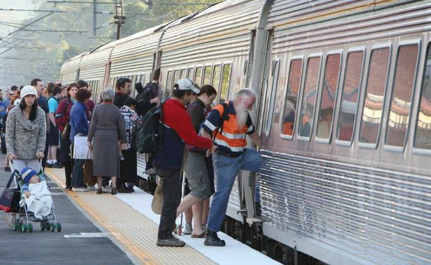Sunshine Coast rail commuters travelling to Brisbane have been assured toilets will be available and will work.