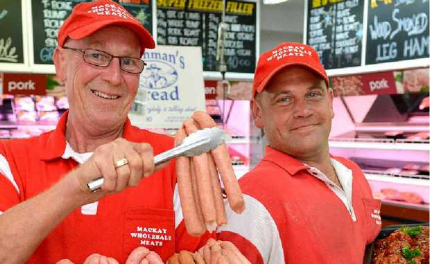 Mega Meats Alfred St manager Harry Preuss said people love to cook food on their Webers for Australia Day.