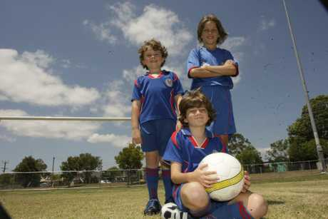 Oliver Masters, Angus Masters and Lachlan Dean, are excited about watching the Fire take on Malaysia at their home club.