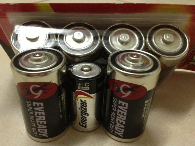 Don't forget to pack extra batteries in your emergency kit.