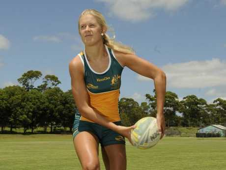 Shenae Ciesiolka will make her Australian touch football debut in the Trans-Tasman Series against New Zealand next month.