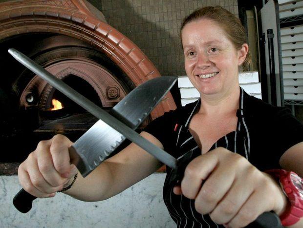 Sarah Hudson(head chef) from Sea Salt Italian Ristorante.
