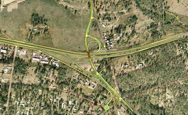 The Blacksoil interchange