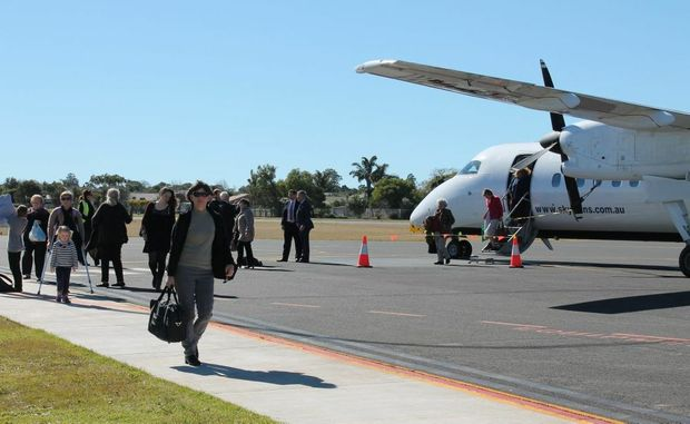 Skytrans general manager Michael Thinee said the airline was looking to expand operations out of Toowoomba.