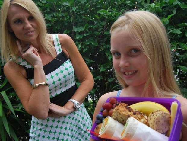 Cabarita mum Leesa Burt knows how to fill daughter Charli's lunch box with healthy food without blowing the budget.