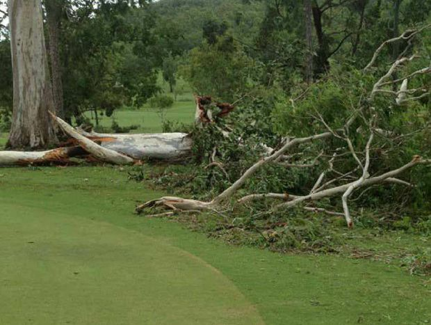 GIANTS FALL: Sarina Golf Club.