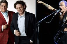 Matt Preston and Marco Pierre White (hosts of MasterChef: The Professionals) and Flea of The Red Hot Chili Peppers.