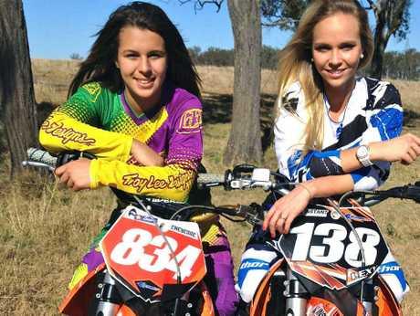 Cheyenne Taylor and Alexa Whyte.