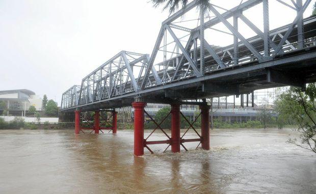 2013 flood, Ipswich.