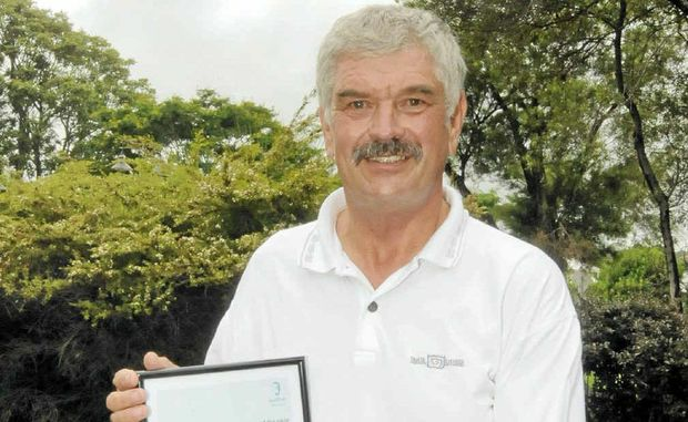 CITIZEN OF THE YEAR: Ballina SES local controller Gerry Burnage.