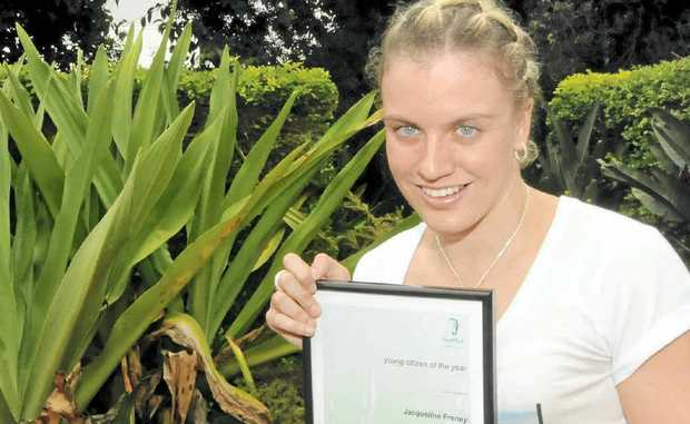 ACHIEVER: Paralympian Jacqueline Freney, from Skennars Head.