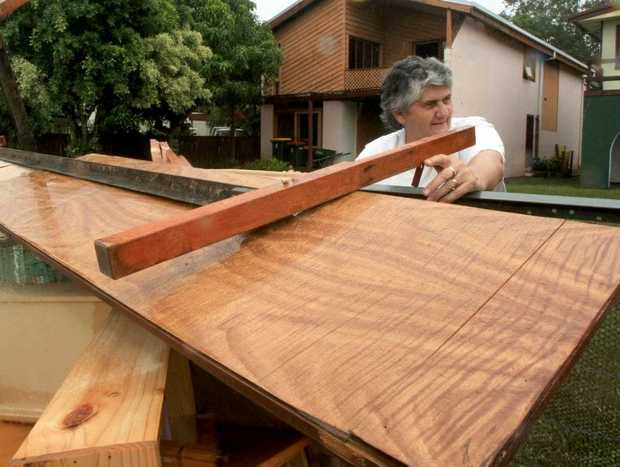 Helen Kenny cleans up in Tumbulgum.