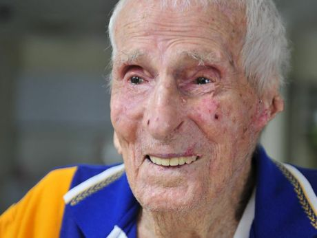 John Stumer turns one hundred years old on Sunday.