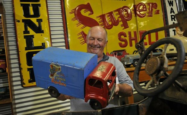 Russell Rudd says one last goodbye to some of his collection before it goes under the hammer.