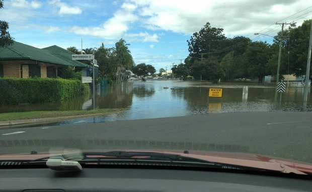 The Bundaberg region reached a record flood high on January 29.