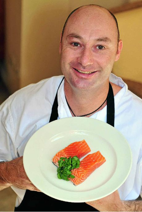 Noosa Springs Relish Restaurant head chef Aden Moriarty shares his salmon secrets.