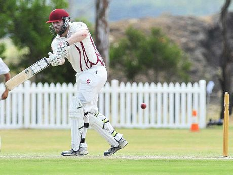 TON CLUB: Central Districts opener Jason O'Sullivan is one cricketer to have hit a hundred for his club this summer.