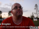 Shane shares struggles of running evacuation centre