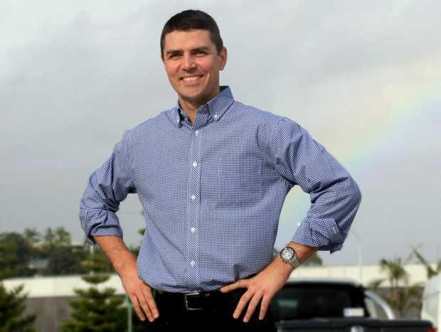 National's candidate Matthew Fraser.