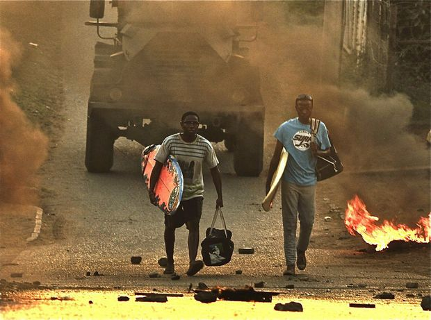 AT THE FESTIVAL: A still from the film Otelo Surfing which was shot in Durban and made by the same person who directed Surfing Soweto, Sara Blecher. It tells the story of a group of township kids who discover the joy of surfing and is set in 1989, against a backdrop of brewing conflict between two political groups. When 16-year-old Otelo Buthelezi takes to the water for the first time, it's clear that he was born to surf. But then tragedy strikes. On the day that Nelson Mandela is released from prison, Otelo is forced to choose between surfing success and justice. This is a beautifully made, insightful and entertaining film that captures a turbulent time in the history of South Africa. Photo Contributed
