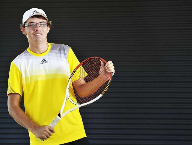TITLE WINNER: Archie Graham won the Australian Open title for people with intellectual disabilities in Melbourne last month.