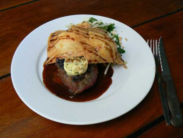 Last years mouth watering winning dish presented by Rod Taylor at Byfield Store.