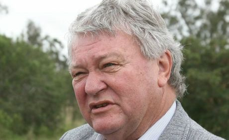Ken O'Dowd on the outskirts of Rockhampton during a fact finding trip along the Bruce Highway.