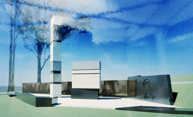 MEMORIAL MOVE: An artist's impression of the Ipswich/Rosewood Coal Miners Memorial.