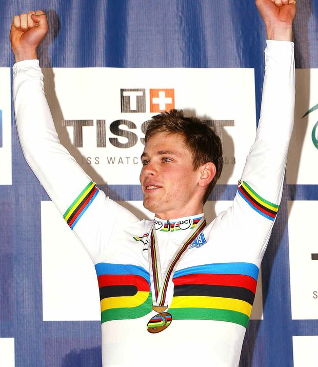 ROAD STALLED: Michael Hepburn is looking to defend the individual pursuit world champion's jersey he won last year.