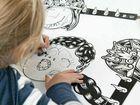 Hands-on art activities for kids come to Mackay Artspace