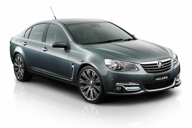 The Holden Commodore will be launched in late May.
