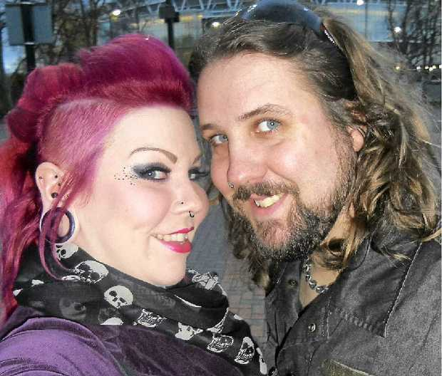 HELP US: English couple Lisa Bennett and Joe Legge are so determined to return to Australia they have issued a public plea for someone to sponsor them.