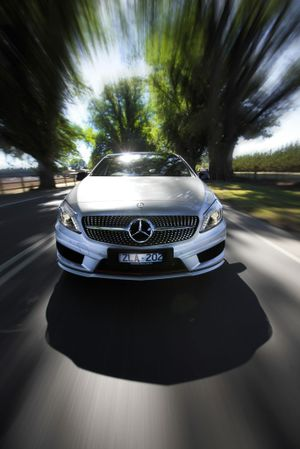 The Mercedes-Benz A 250 Sport.