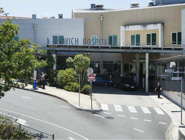 HEALTHY FIGURES: Ipswich General Hospital.