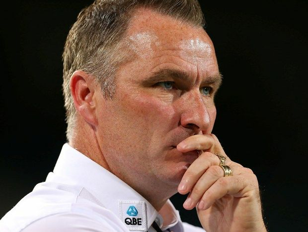 Glory coach Ian Ferguson looks on during the round 13 A-League match between the Perth Glory and the Western Sydney Wanderers at Patersons Stadium on December 27, 2012 in Perth, Australia.
