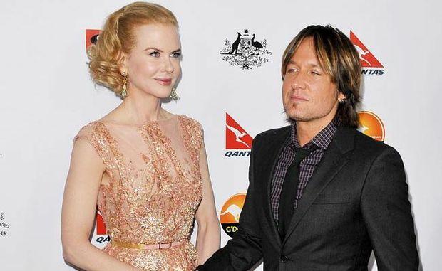 Nicole with husband Keith.