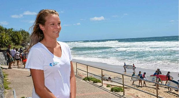 GO MADDY: Maddy Dunn goes into Round 5 of the Ironmen and ironwomen series, being held at Coolum this weekend, with a good win boosting her confidence.